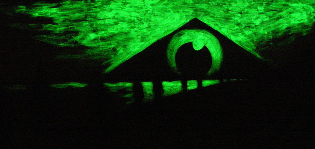 obraz v tme